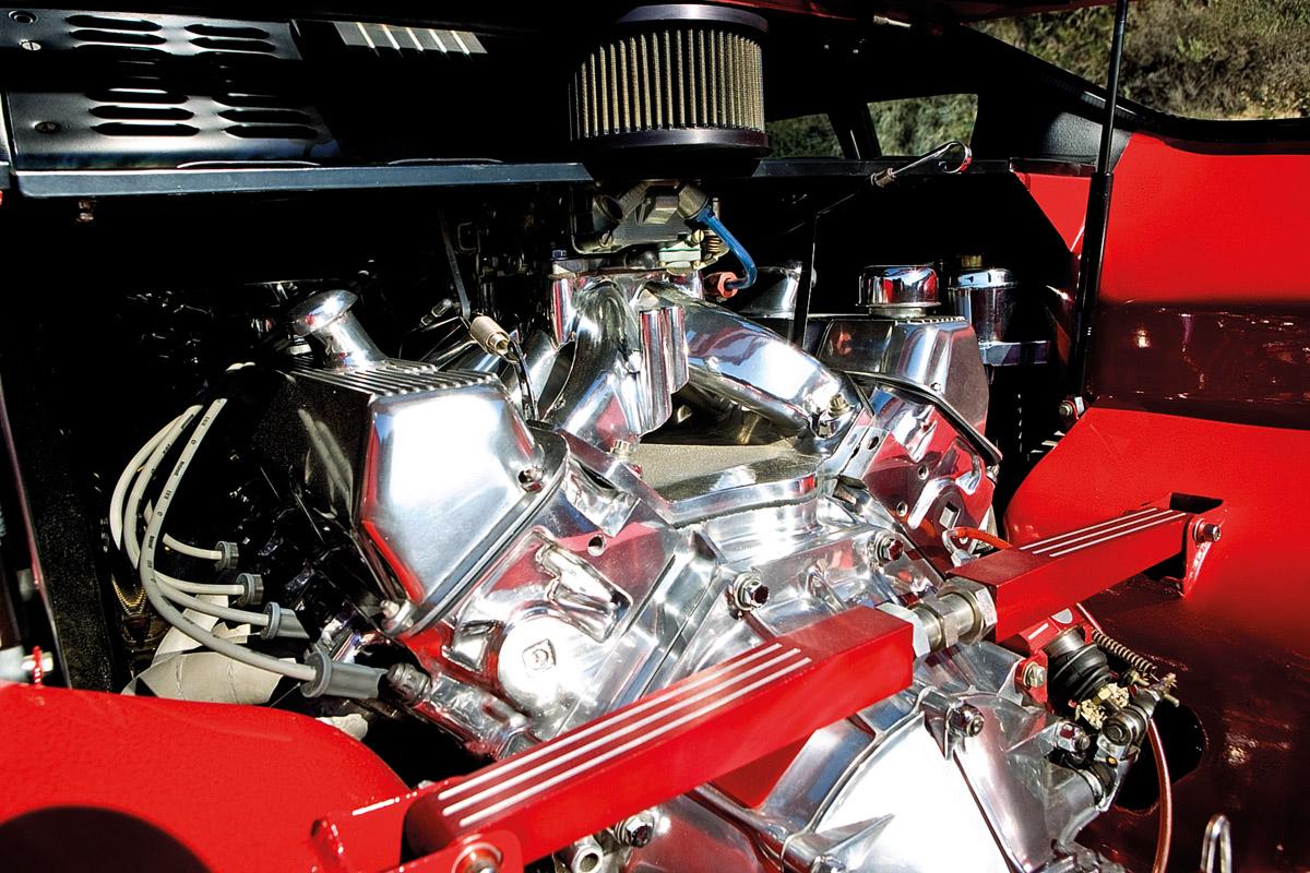 Motor des De Tomaso Pantera
