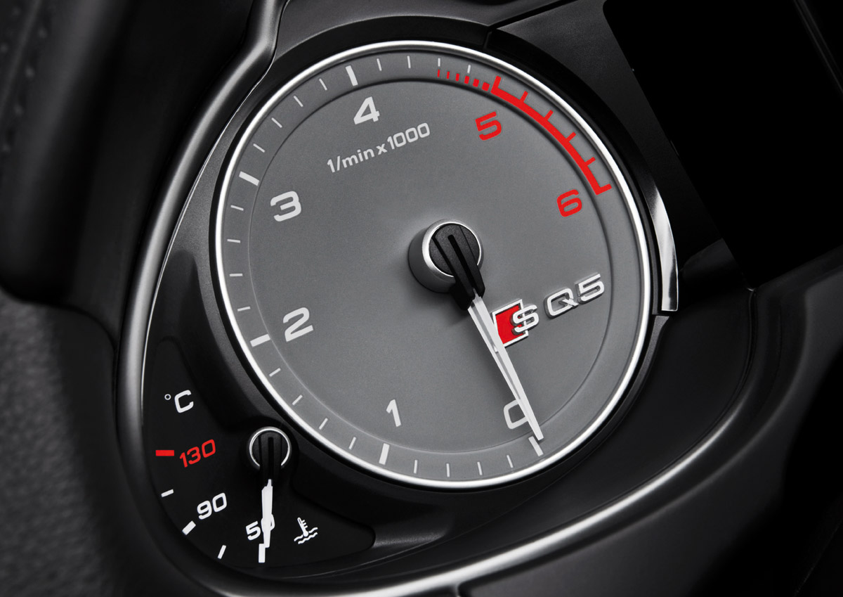 Audi SQ5 TDI Drehzahlmesser