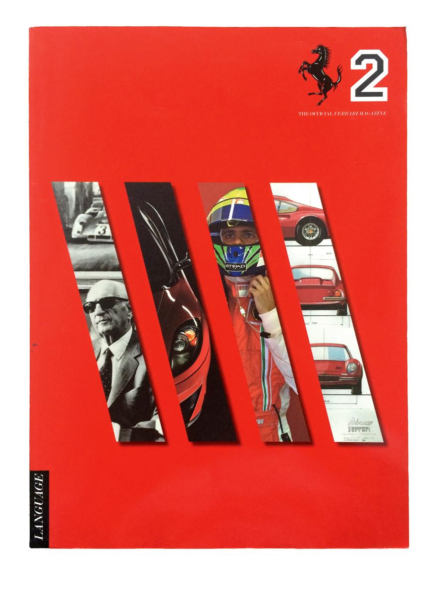 Eine Ausgabe des Ferrari Magazins