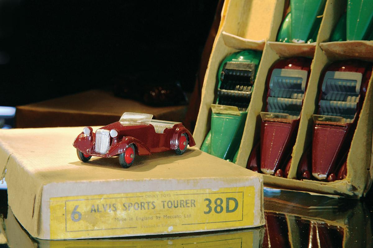 Modellauto Alvis
