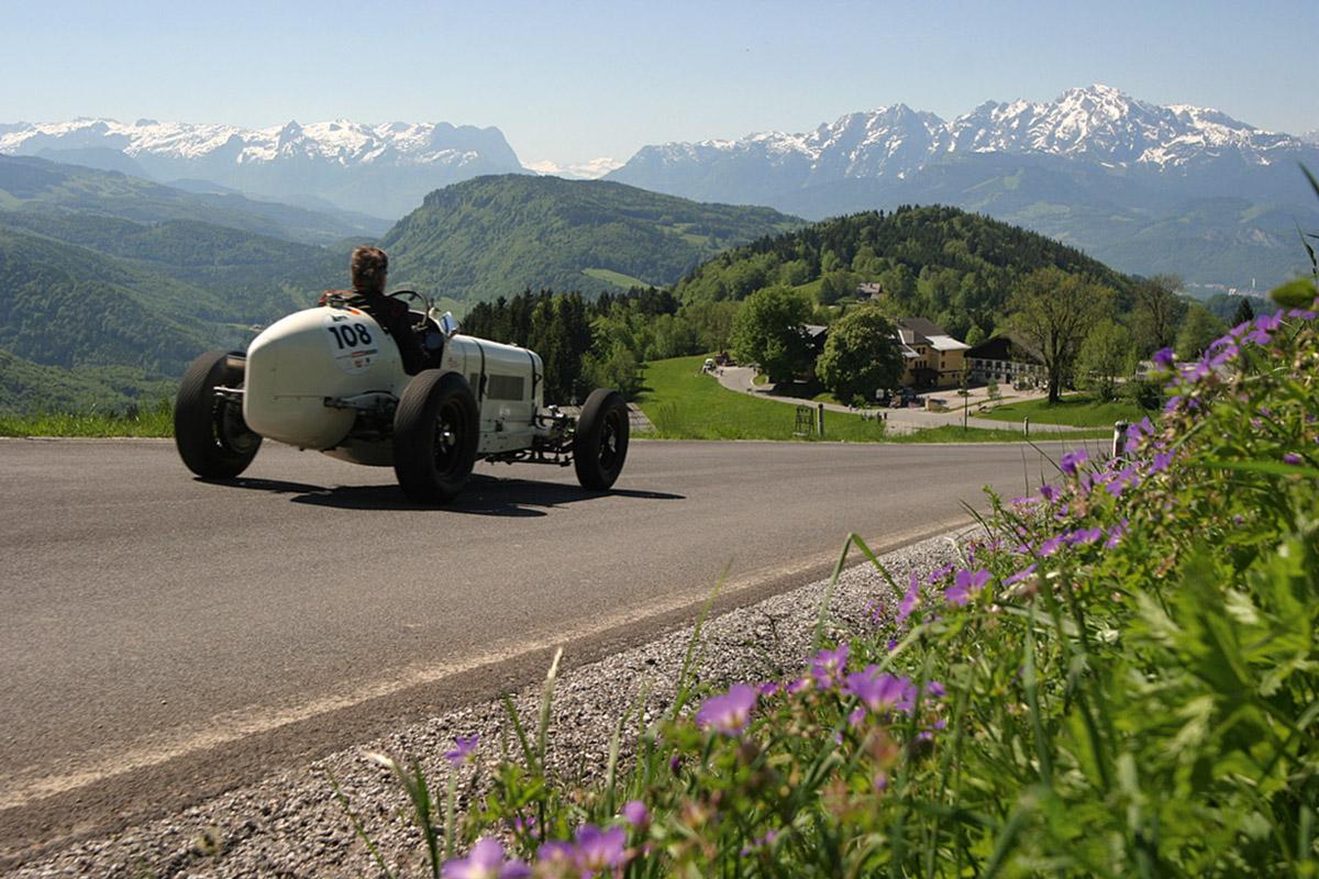 Unterwegs im ERA R9B im Salzburger Land.