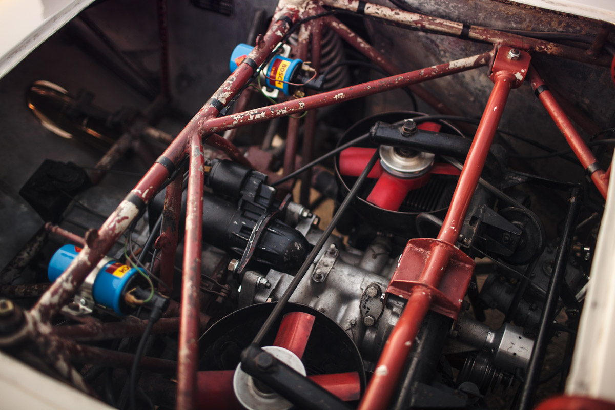 Motor des BMW 700 RS
