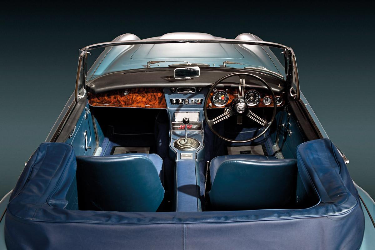 Cockpit des Austin-Healey 3000 Mk. III