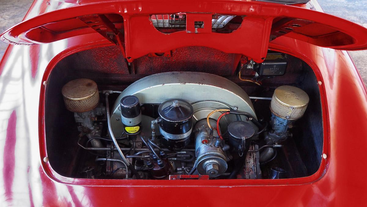 Motor des Porsche 356 Speedster