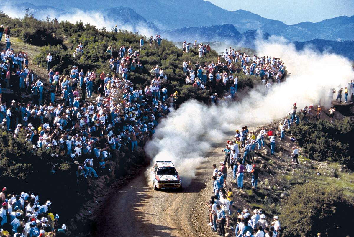 Lancia Delta Integrale bei der World Rally Championship 1992