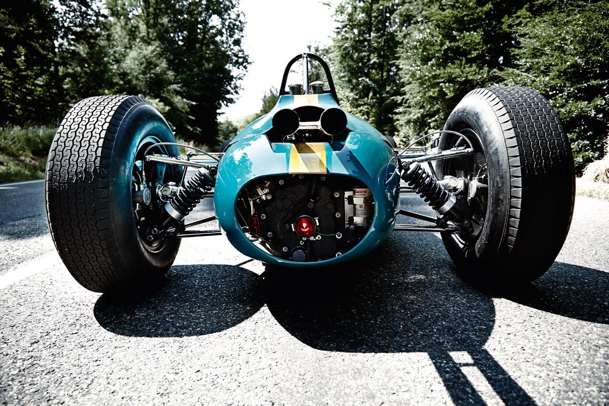 Heck des Brabham BT3