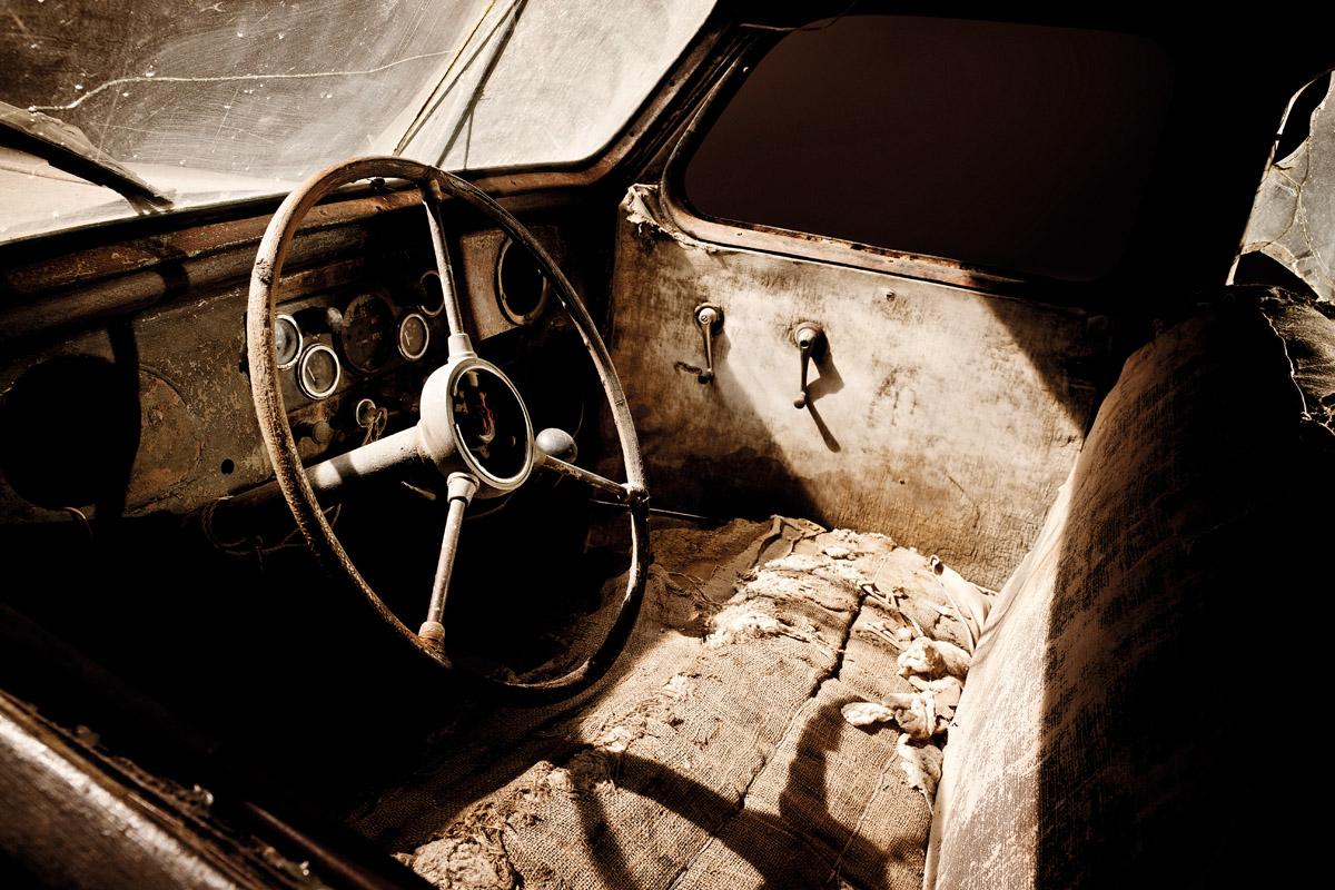 Cockpit des Toyota AA