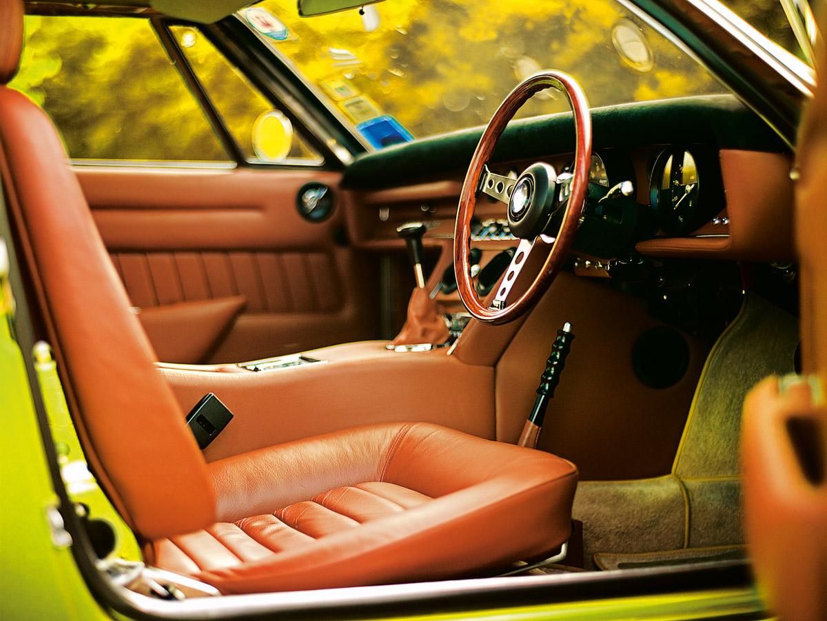 Maserati Ghibli Innenraum