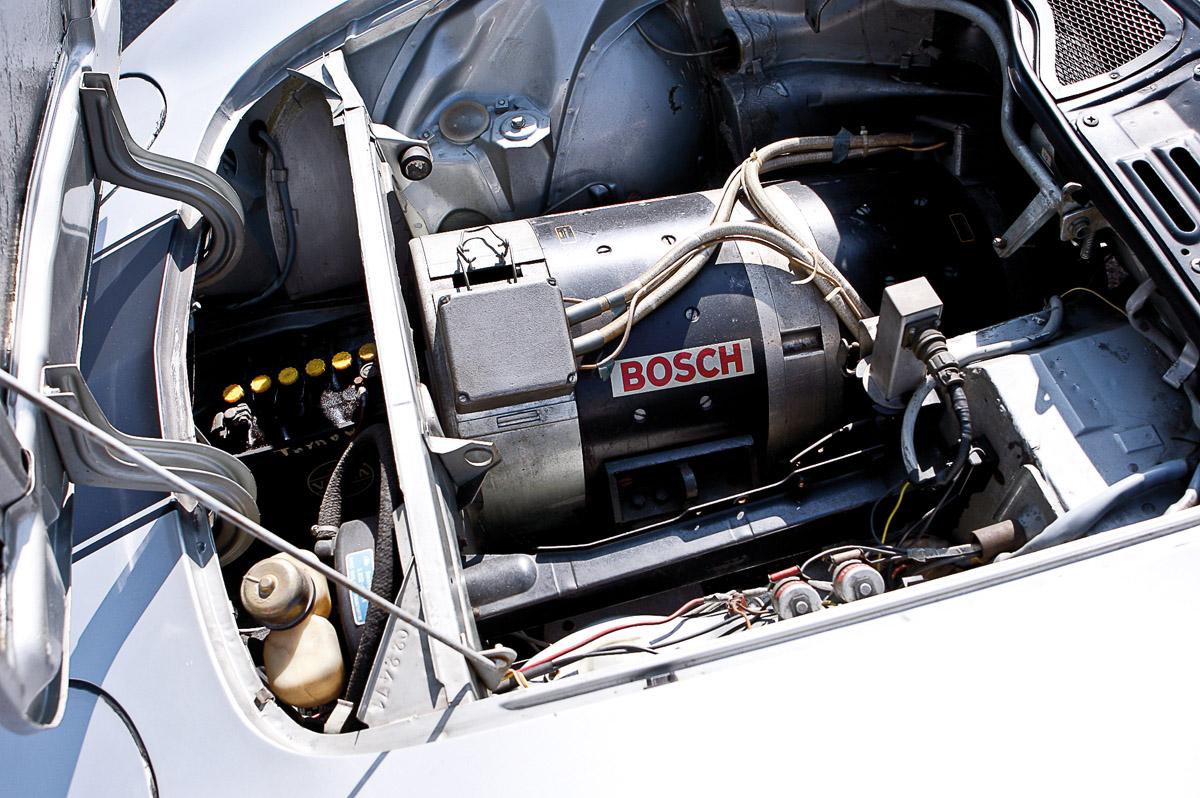Elektromotor des Opel GT Rekordwagens