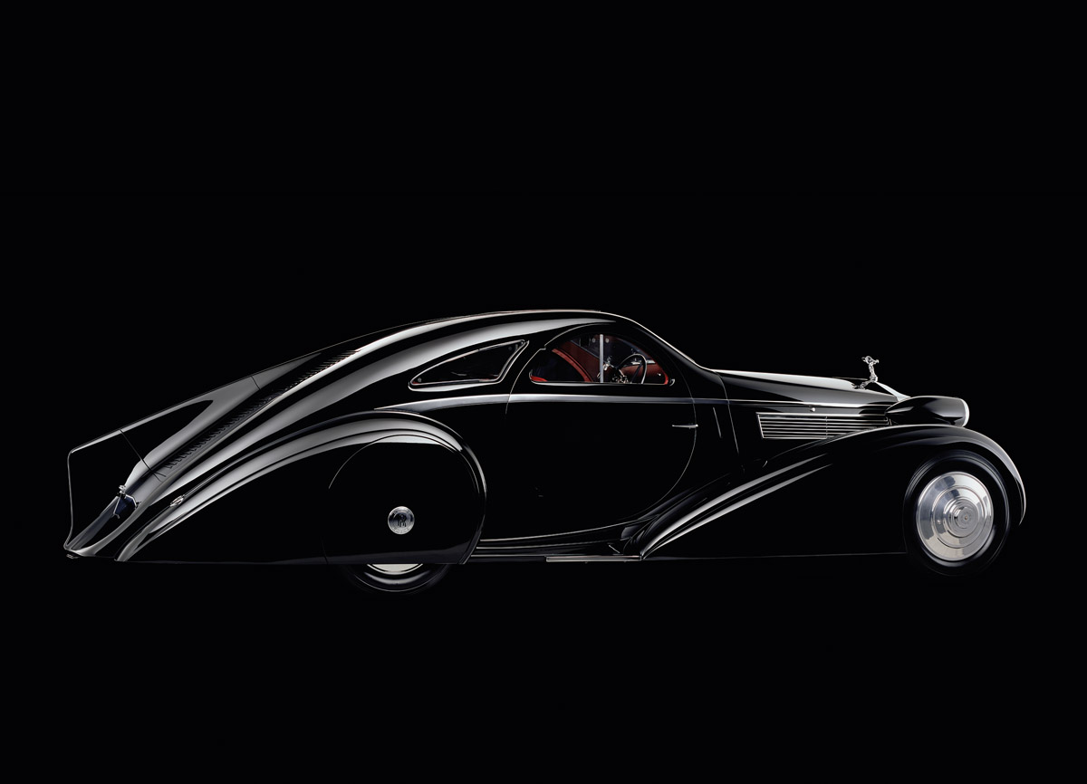 Der Round Door Rolls-Royce im Profil