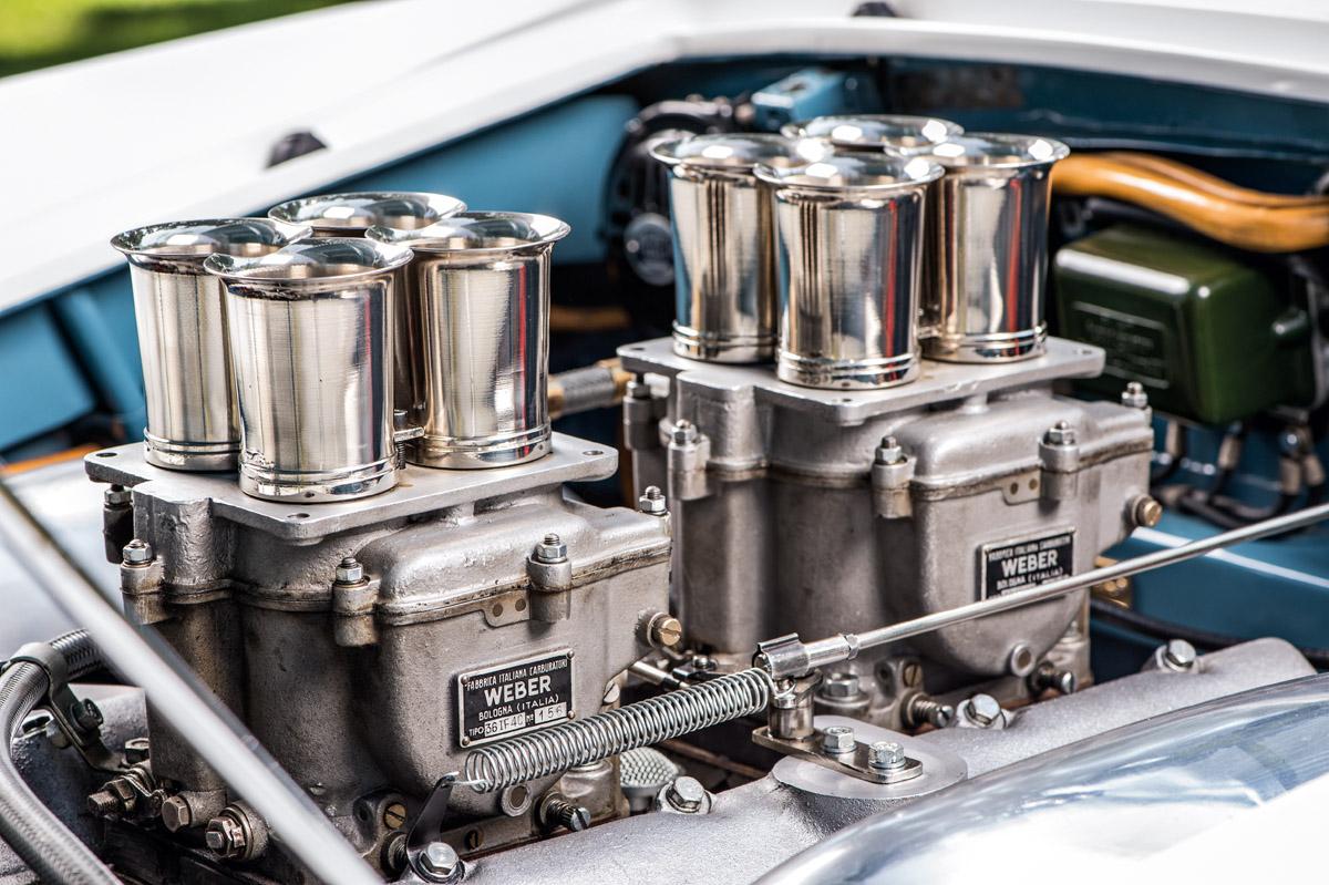 Motor des Fiat 8V