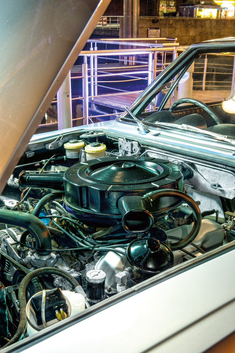 Motor des Jensen Interceptor