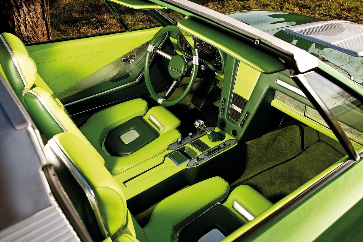 Innenraum des BMW Spicup