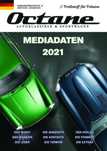 OCTANE Mediadaten 2021