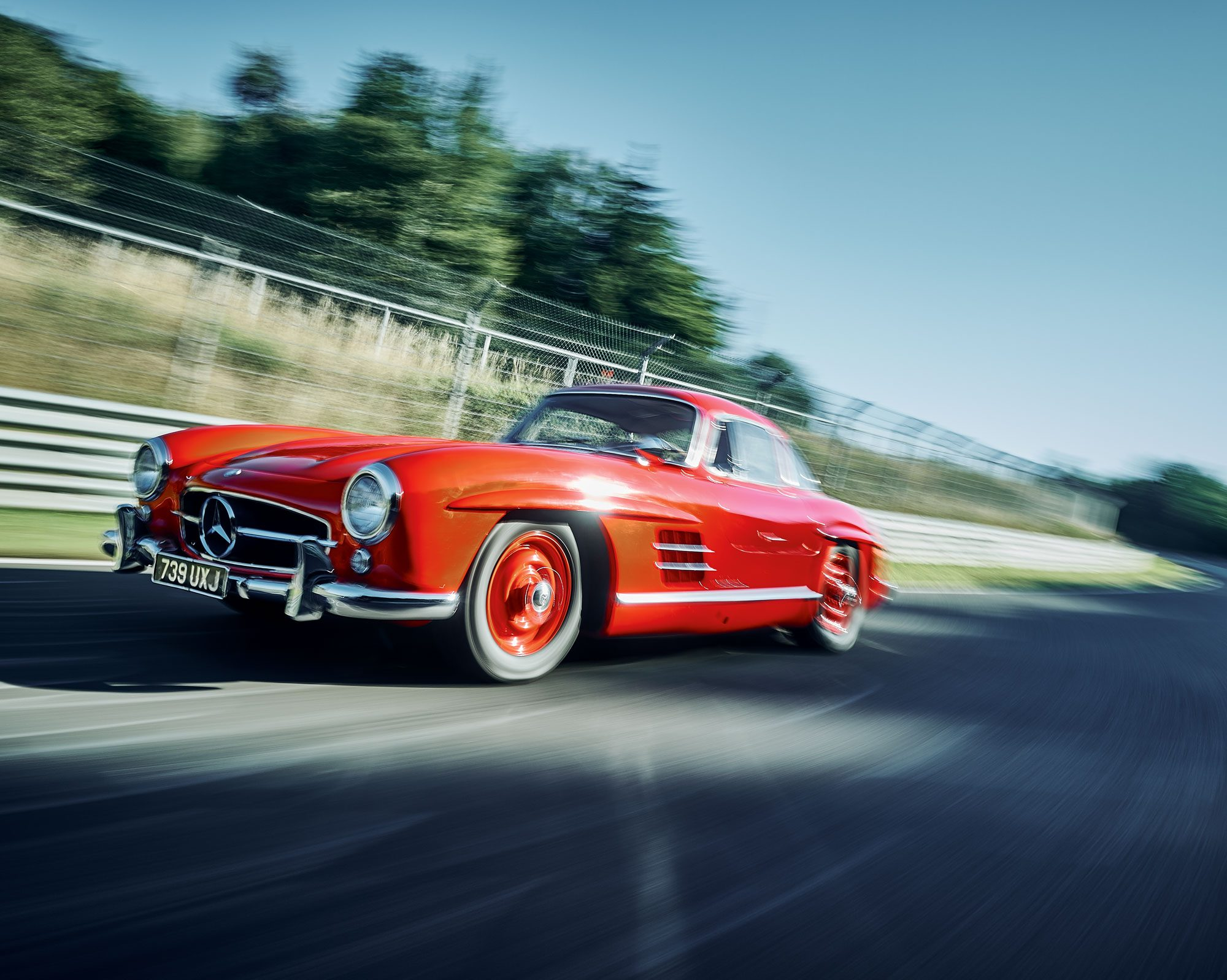 #20, Mercedes-Benz, 300SL, W198, Nürburgring, Gunther Thiel