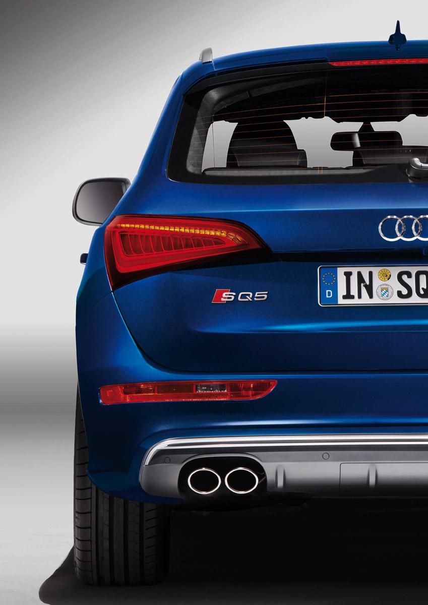 Audi SQ5 TDI Rückansicht im Detail