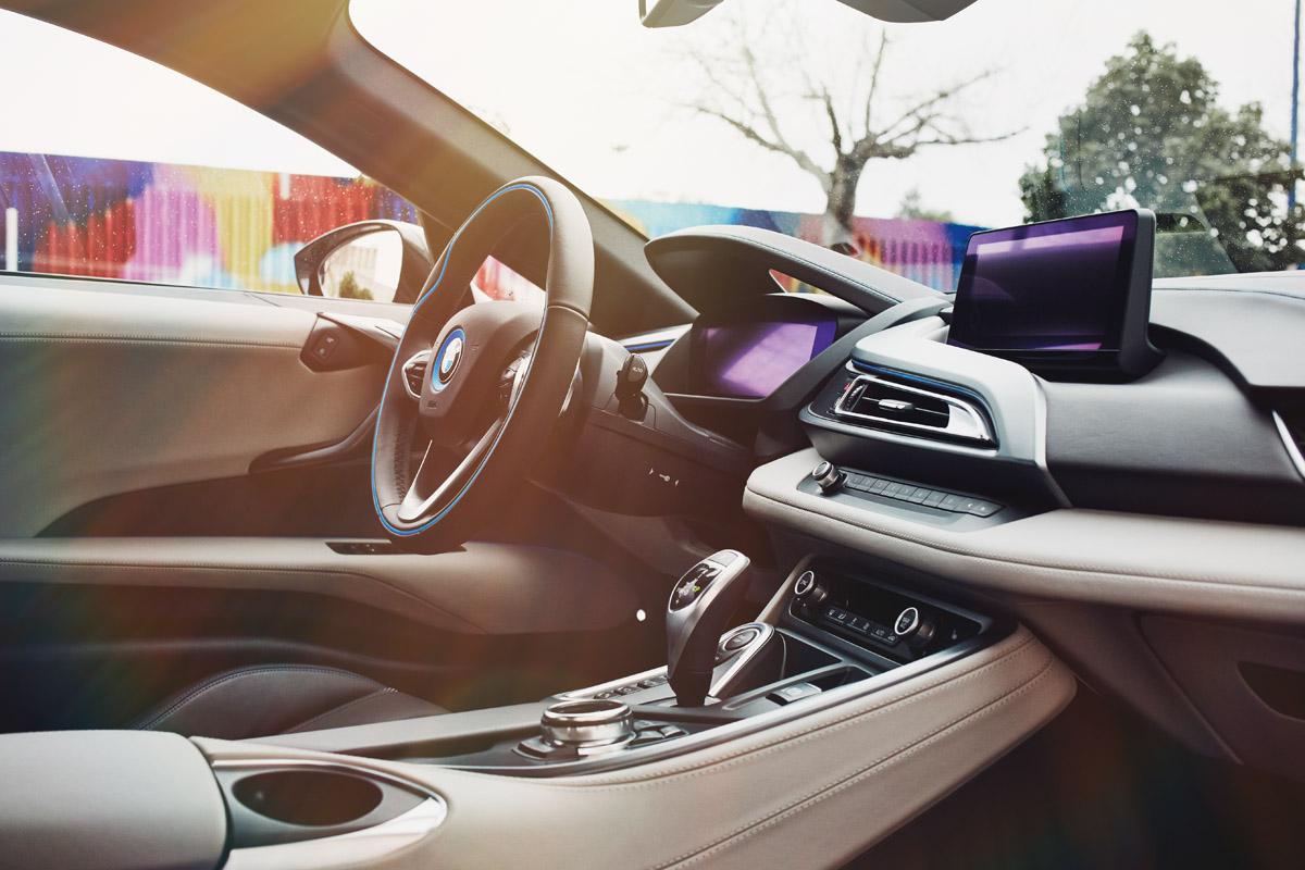 Cockpit des BMW i8