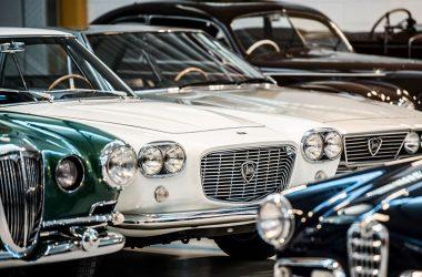 Einblick in die Sammlung von Corrado Lopresto mit Unikaten der Marken Lancia und Alfa Romeo