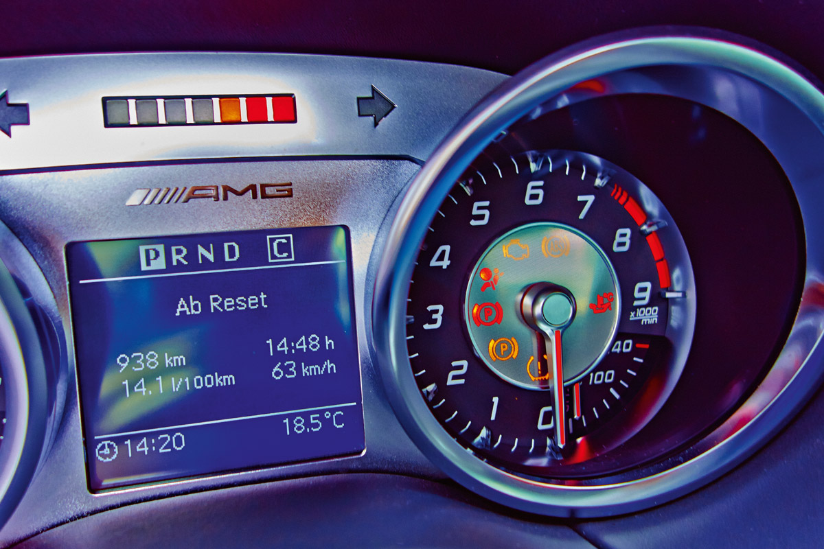Details des SLS AMG GT Final Edition