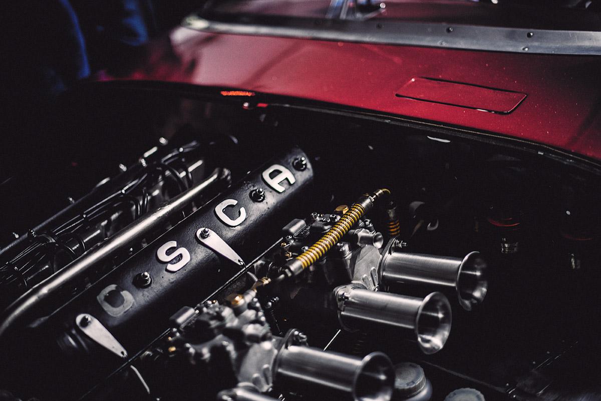 Motor des OSCA Tipo S-498