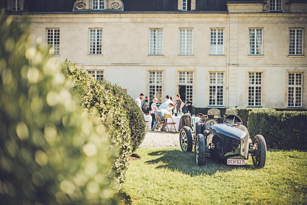 Exklusives Oldtimertreffen in Frankreich