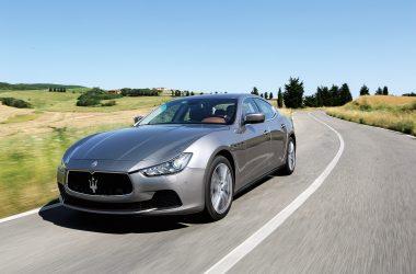 Maserati Ghibli fahrend