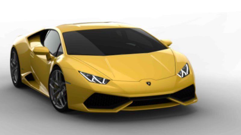 Lamborghini Huracan frontal