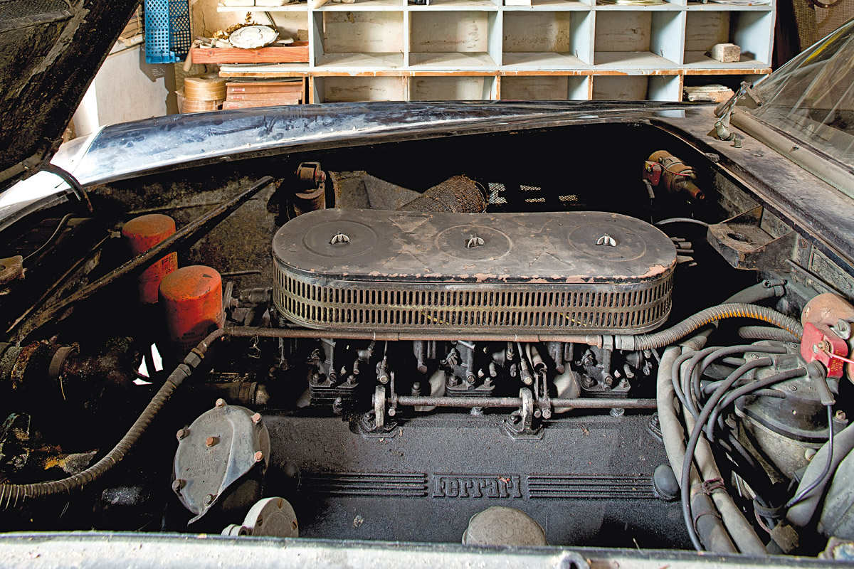 Motor des Ferrari 250 GTB SWB California Spider