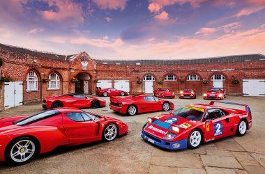 #46, Ferrari, F40, F50, 288 GTO, Enzo, LaFerrari