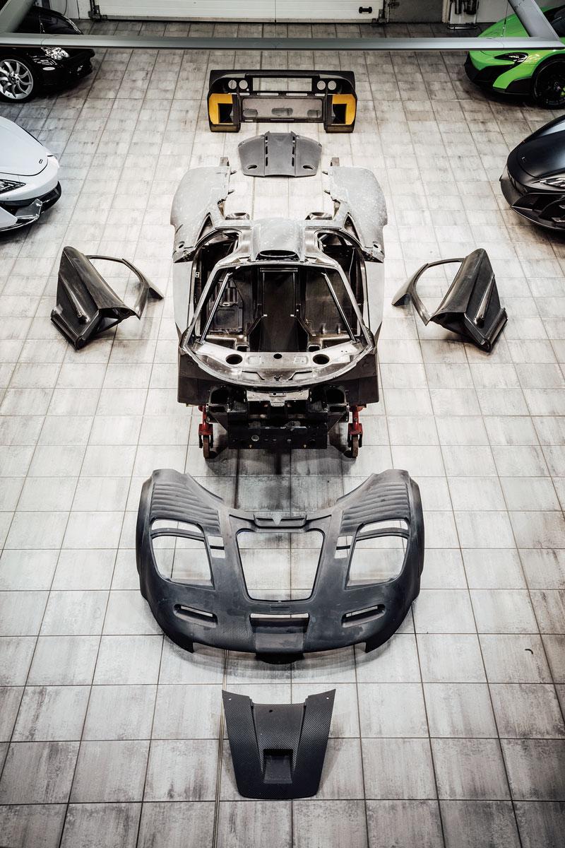 #42, McLaren, F1, Restaurierung
