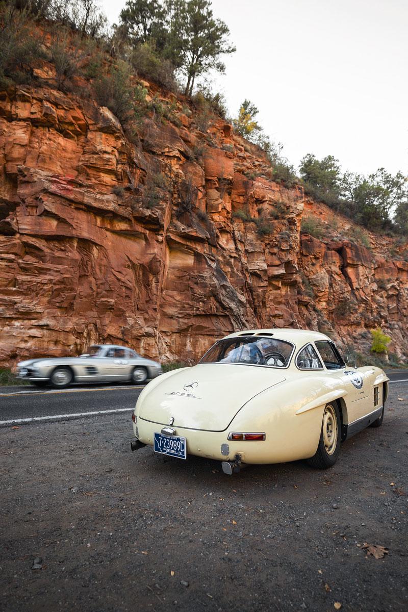 #42, Mercedes-BGenz, 300SL, Flügeltürer, Arizona, Rallye