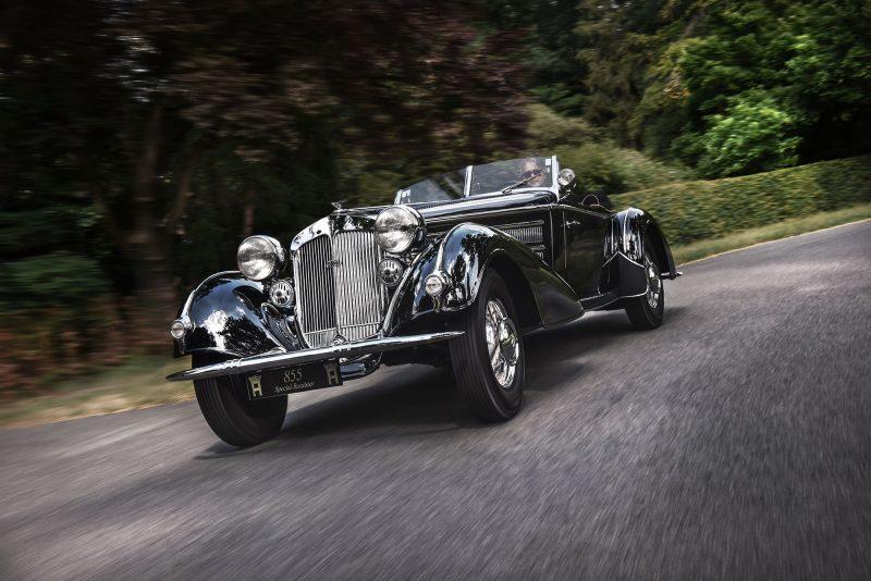 #47, Horch, 855 Spezial-Roadster, Reihenachtzylinder, Vorkrieg, 500K, 540K, Audi