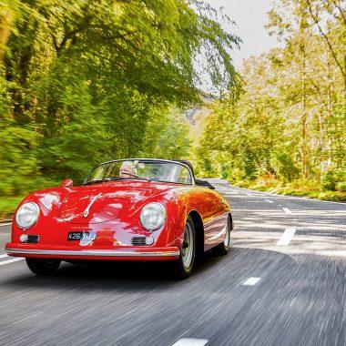 #43, Porsche, 356, Speedster, Carrera
