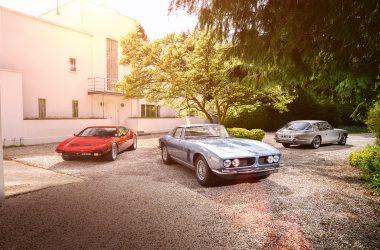 #45, De Tomaso, Iso Grifo, Jebsen interceptor, US-V8, Hybrid