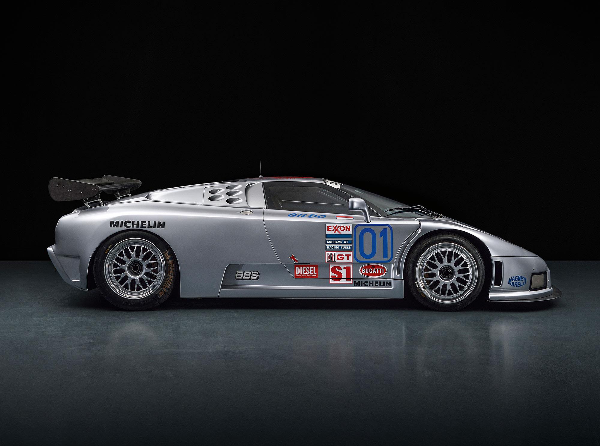 #47, Bugatti, EB110 LM, Le Mans, IMSA, EB110 SC