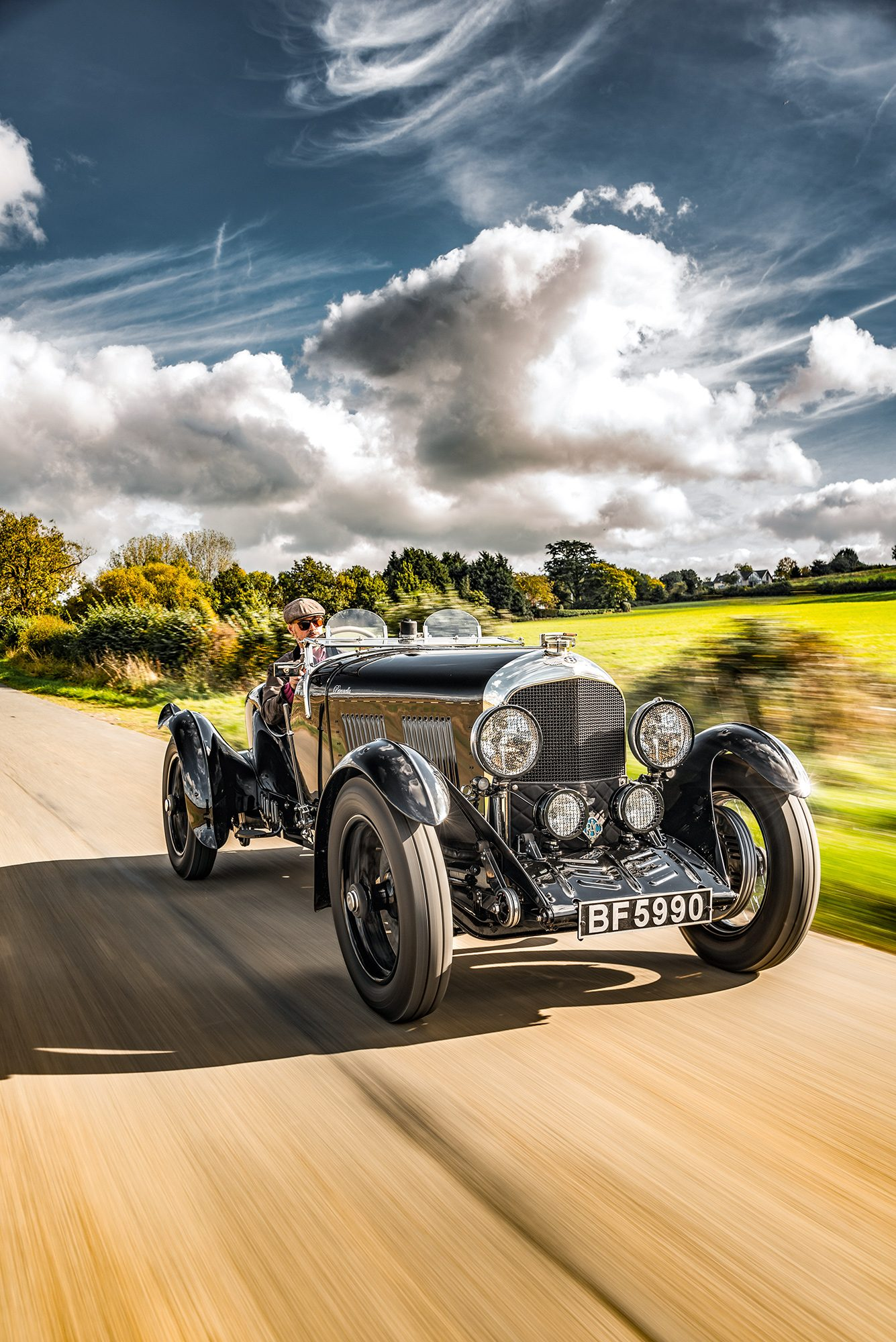 #44, Bentley, Roadster, Woolf Barnato, 3-Liter-Bentley, Vanden Plas