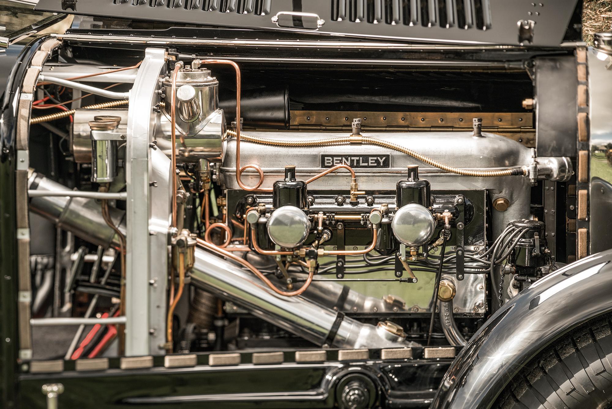 #44, Bentley, Roadster, Woolf Barnato, 3-Liter-Bentley, Vanden Plas