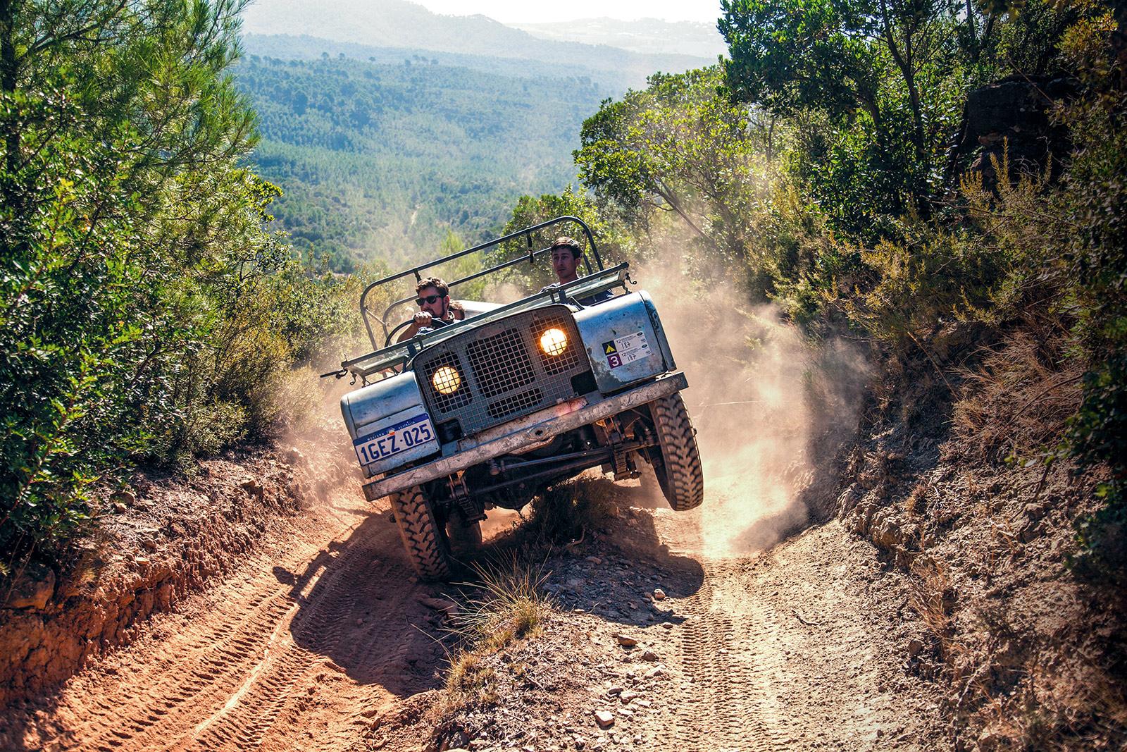 #43, Land Rover, Range Rover, Ausfahrt, Spanien