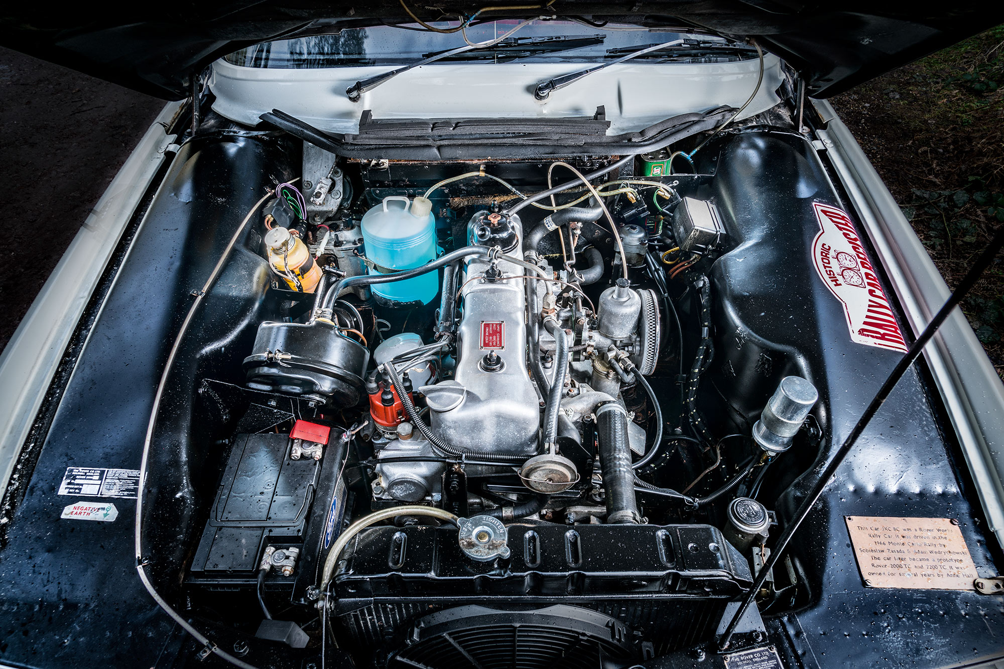 #47, Rover, Rallye Monte Carlo, 2000TC, P6