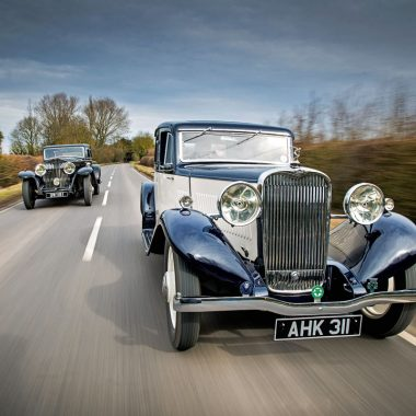 #42, Rolls-Royce, Phantom II, Singer, Coventry, Kaye Don, Luxuslimousine