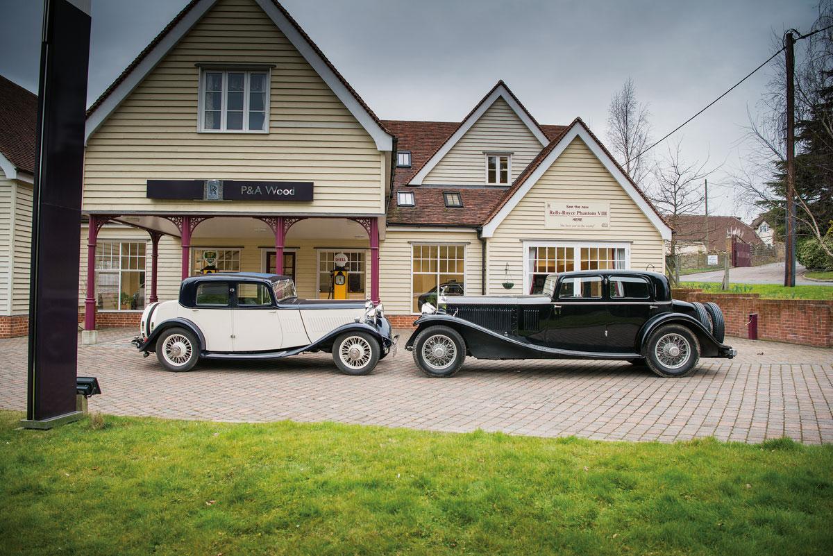 #42, Rolls-Royce, Phantom II, Singer, Coventry, Kaye Don, Luxuslimousine