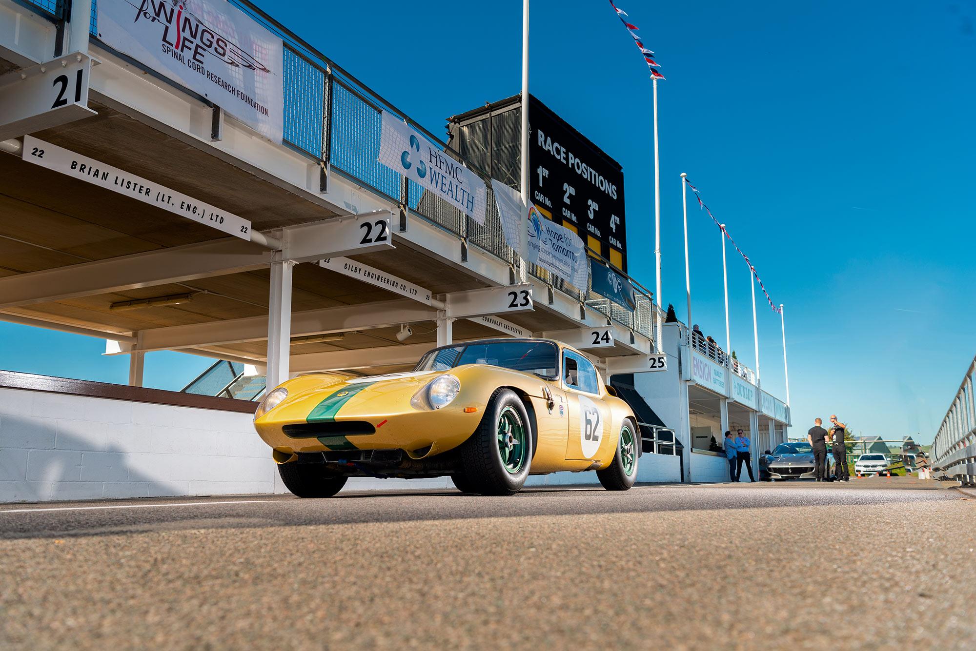#47, Lotus, Goldbug, Ian Walker, Coupé, Rennwagen, Elan 26R