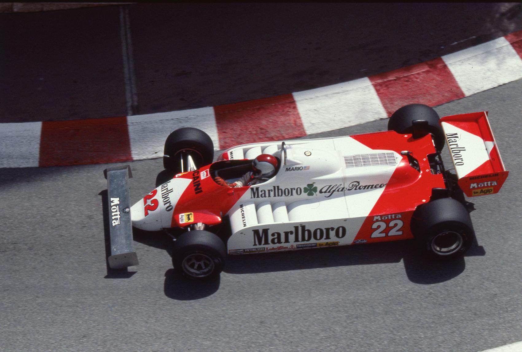 Octane Edition 05 Alfa Romeo Formel 1 Tipo 179 Beim GP Von Monaco 1981