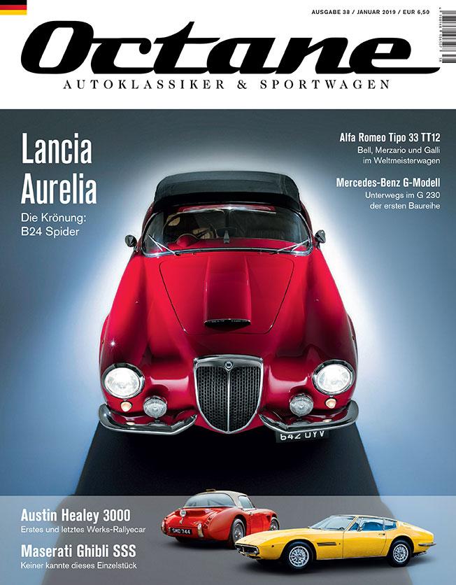OCTANE Magazin 38 Lancia Aurelia B24 Spider