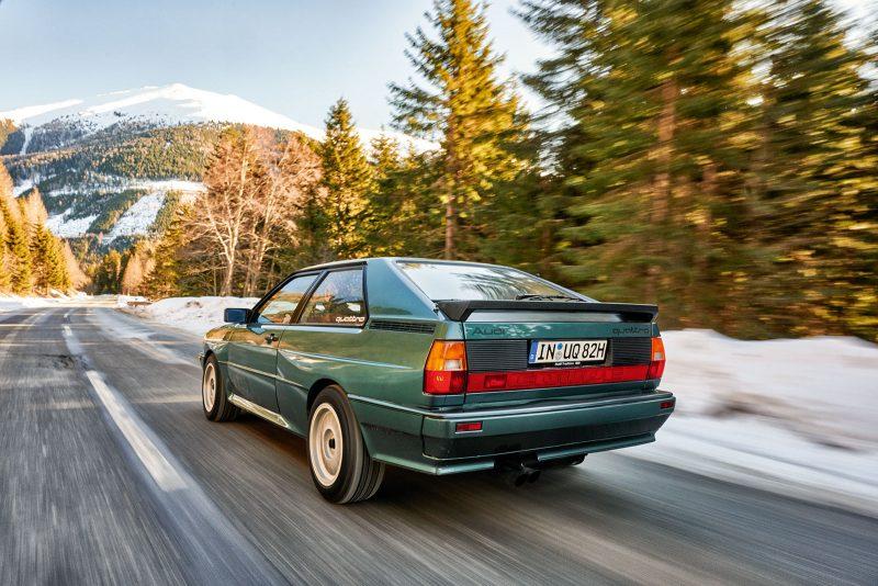 40 Jahre Audi Urquattro
