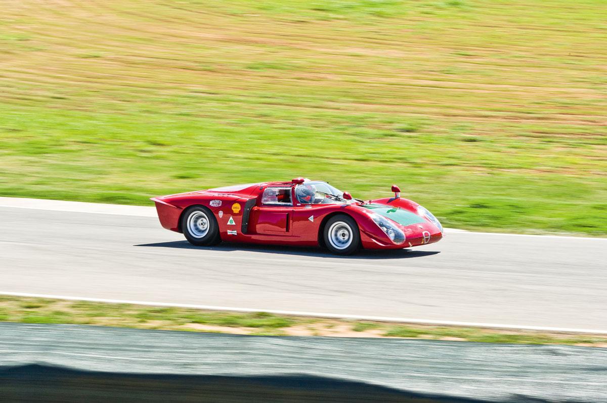 #23, Alfa Romeo, Tipo 33/2, Langstrecken-Rennwagen, Carlo Chiti
