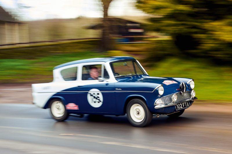 #41, Ford, Anglia, Allardette, Sidney Allard, Alan Allard, Monte Carlo Rallye, Kompressor, Shorrock