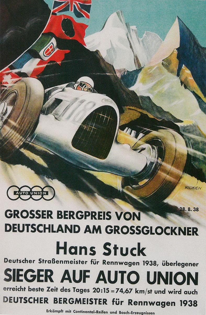 #32, Audi, Typ C, Silberpfeil, Hans Stuck, Grossglockner