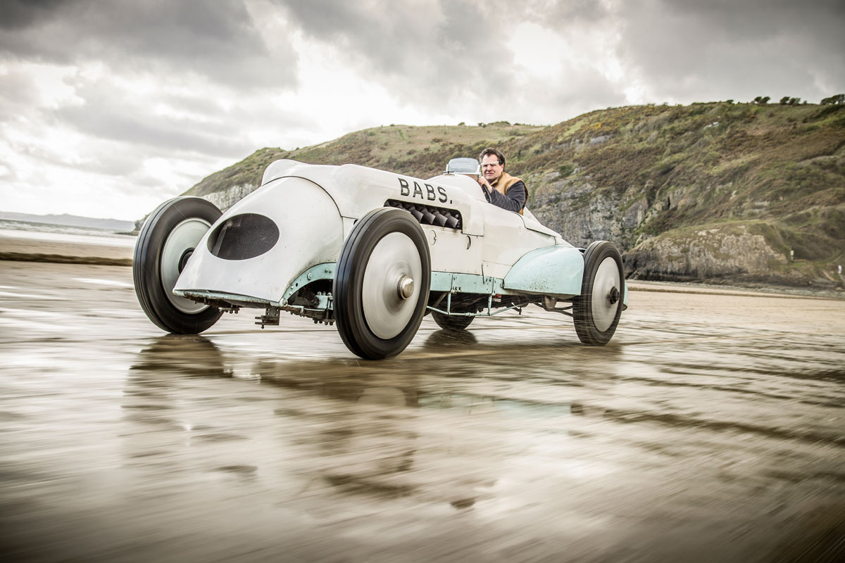 #25, Babs, Rekordwagen, Parry Thomas, Pendine Sands