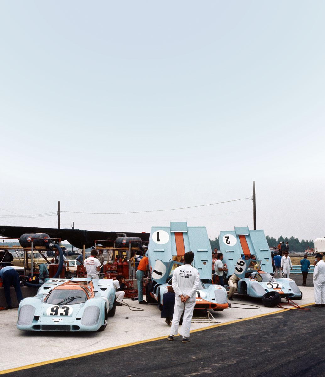 #37, Derek Bell, Porsche 917, Saison 1971